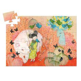 Silhouetpuzzel - Kokeishi - 36 stuks