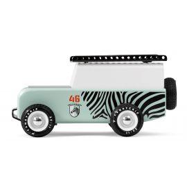 Houten speelgoedauto - Drifter Sahara - Zebra