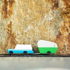 Houten speelgoedauto - Mississipi Blue Mule