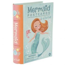 Mermaid postkaartset