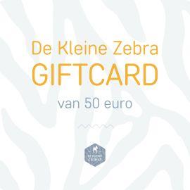 Digitale De Kleine Zebra Kadobon van 50 euro