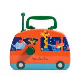 Muzikale fanfare bus - Les jouets métal