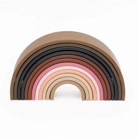 Siliconen speelset 12 Rainbow - Diversity