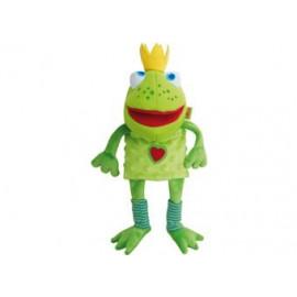 marionnette 'Roi grenouille'