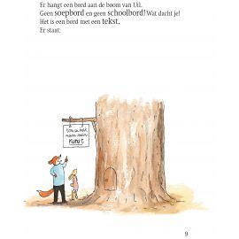 grappig leesboek 'Vos en Haas een ei op een ezel'