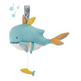 Muziekknuffel walvisJoséphine