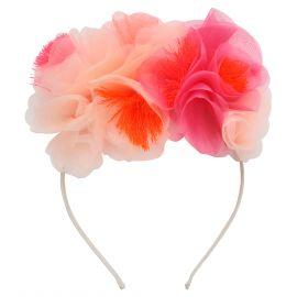 Haarband Pink floral